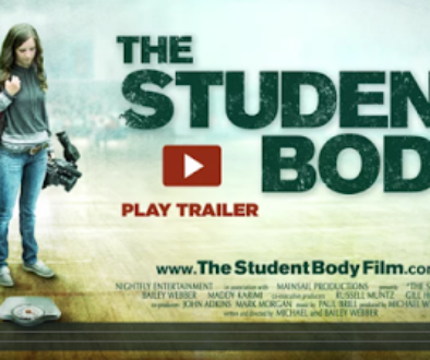 Screenshot from Film The Student Body